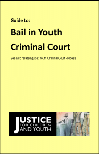 Publications | Justice for Children and Youth